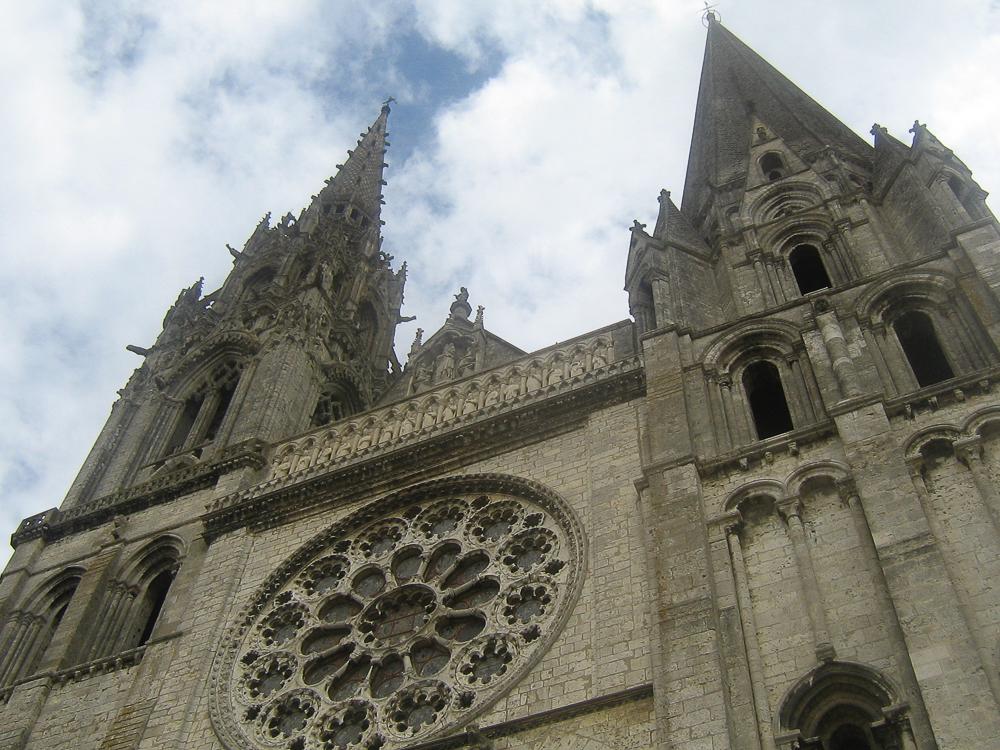 Chartres, west facade