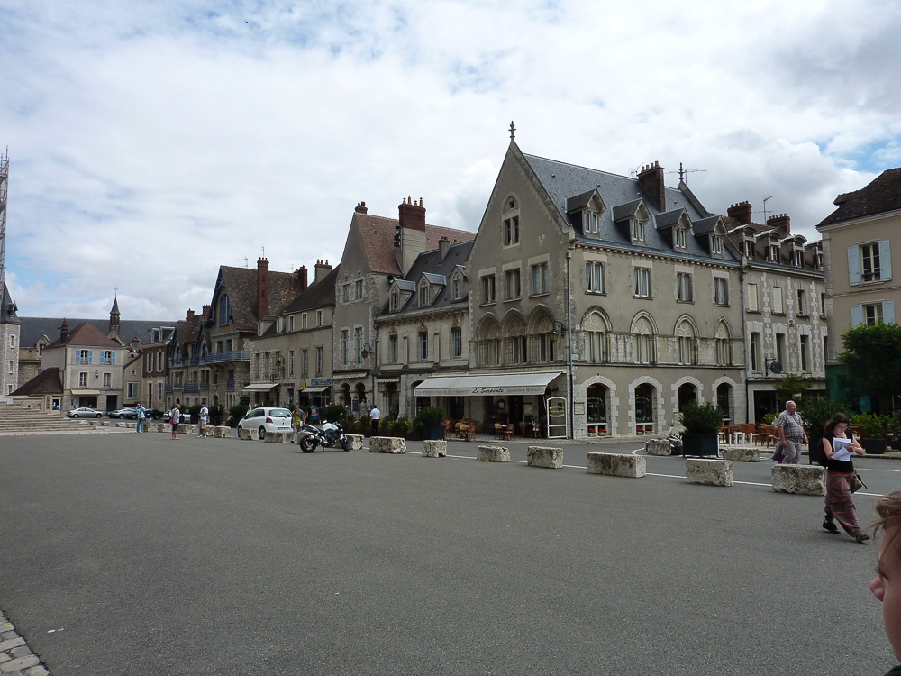 Chartres, looking south-east